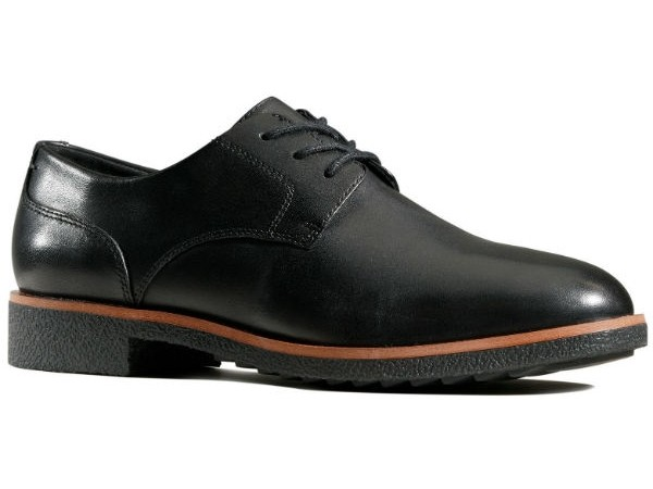 Clarks Griffin Lane 26143113 black leather