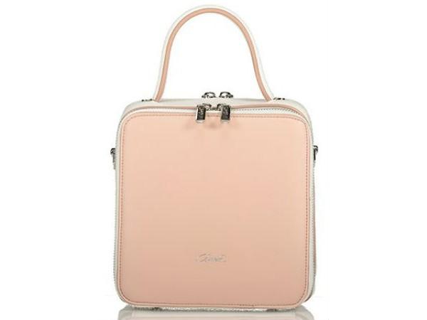 dfb794c180 Axel Handbag with long strap 1010-0270 nude
