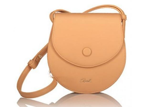 Axel Domenica semicircular bag 1020-0359 beige