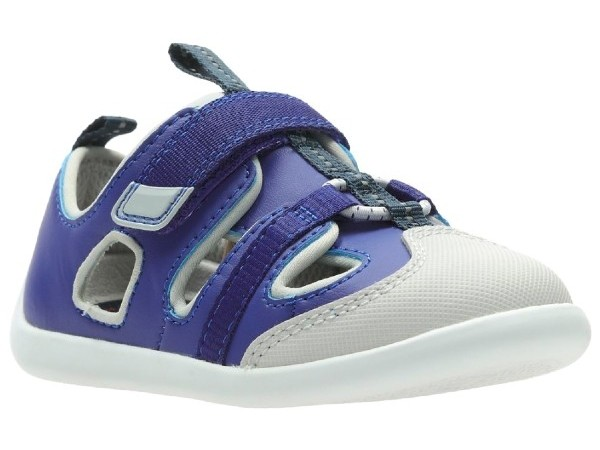 Clarks Play Bright T blue synthetic 26140559