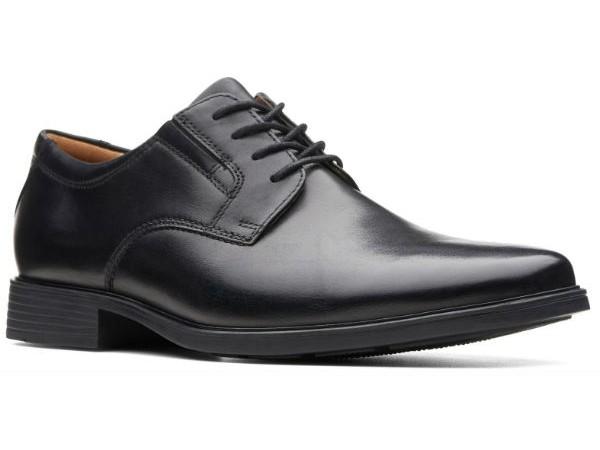 Clarks Tilden Plain 26110350 black leather