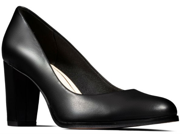 Clarks Kaylin Cara 26145688 black leather