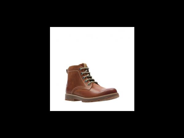 Clarks Comet Rock 26138444 tan leather