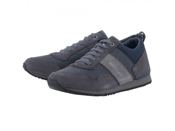 81253753fa TOMMY HILFIGER MAXWELL 11C5 MAGNET-MIDNIGHT Ανδρικό sneaker της ...