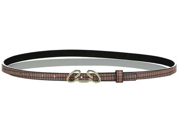 Axel Hezel belt check with Axel metal 1603-0468 025 camel