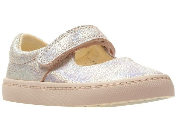 Clarks City Gleam T pink interest 26142518
