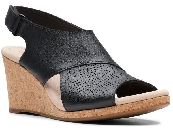 Clarks Lafley Joy 26145421 black leather