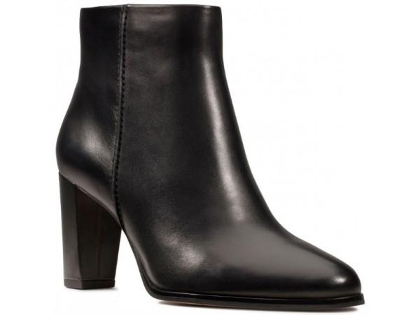 Clarks Kaylin Fern 26146297 black leather