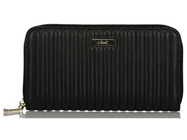 Axel Zoey wallet with stitching lines 1101-1262 003 black