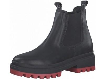 Tamaris 1-25492-27 055 black lea./red