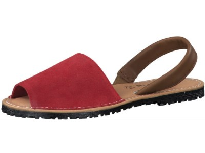 Tamaris 1-28916-24 570 red suede comb