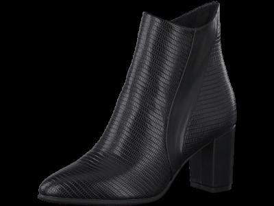 Marco Tozzi 2-25061-35 019 black lizard