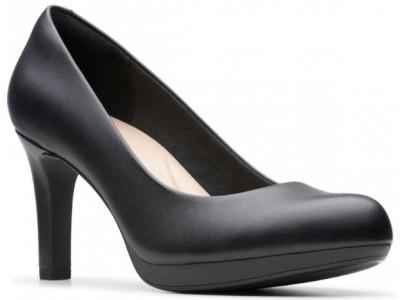 Clarks Adriel Viola 26129359 black leather