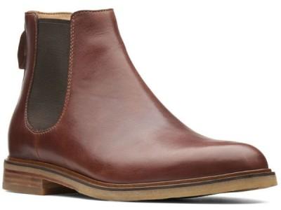 Clarks Clarkdale Gobi 26136251 mahogany leather