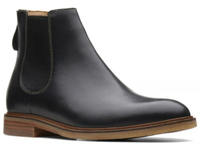 Clarks Clarkdale Gobi 26136254 black leather