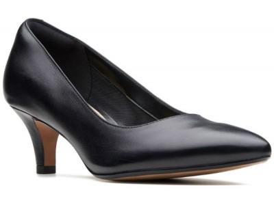 Clarks Linvale Jerica 26137208 black leather