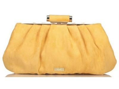 Axel Sabrina evening bag synthetic suede 1005-1200 yellow