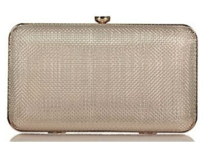 Axel Fidela mesh metal clutch bag 1005-1201 gold