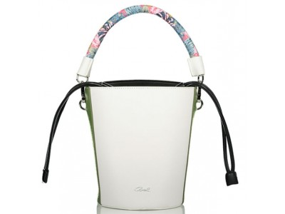 Axel Kaila bucket bag with long strap 1010-2233 off white