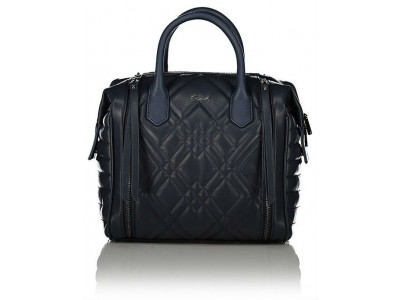 Axel bag Caliste with stitching detail 1010-2341 dark blue