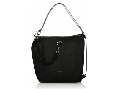 Axel Tiffany shoulderbag with chain strap 1010-2349 black