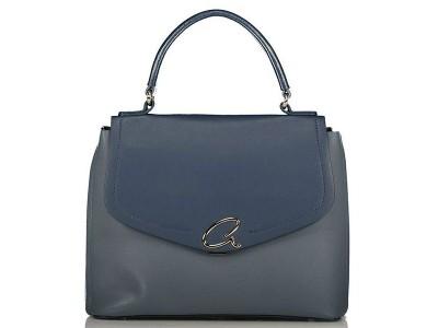 Axel Gloria handbag with flap 1010-2360 blue