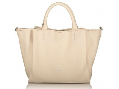 Axel Elvira handbag and long strap removable 1010-2366 cream