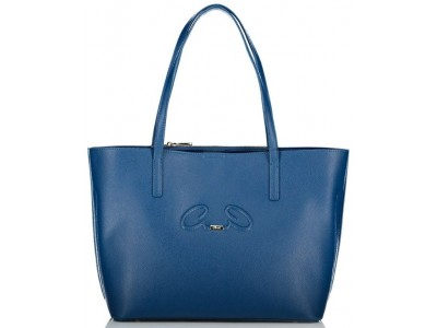 Axel Rhea shopper bag from recycled materials 1010-2532 002 blue