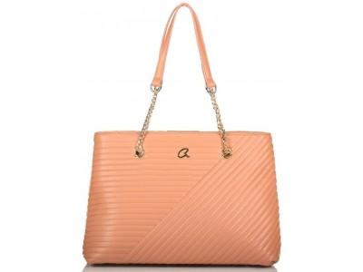 Axel Theodora shoulder  bag chain handle 1010-2534 578 light bronze
