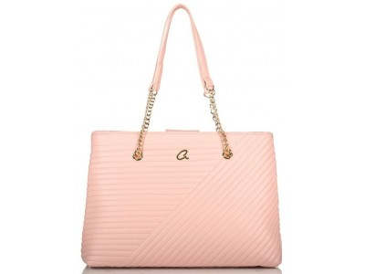 Axel Theodora shoulder bag chain handle 1010-2534 007 pink