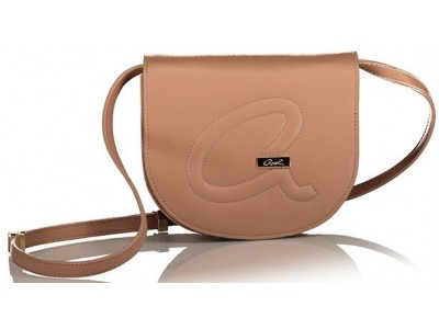Axel Christa crossbody bag solid color logo A 1020-0380 beige