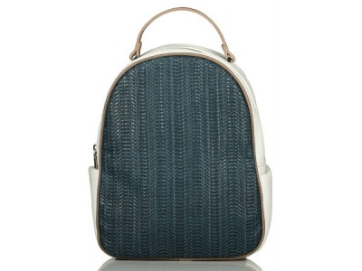 Axel Tammie backpack whit knit design 1023-0138 blue