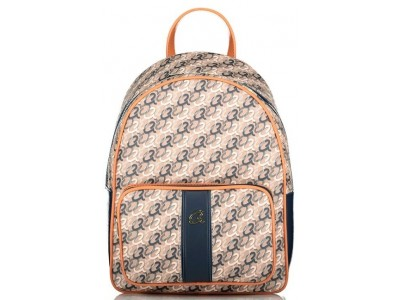 Axel Cleo backpack with front pocket 1023-0269 068 navy