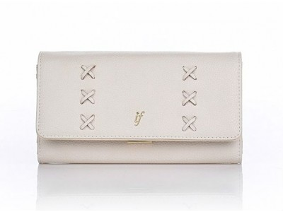 Axel Carolina wallet with flap 1101-1108 off white