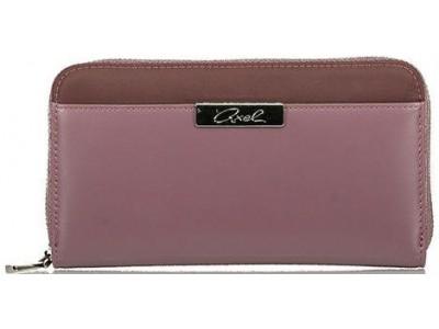 Axel Cerise wallet solid color 1101-1140 dark violet