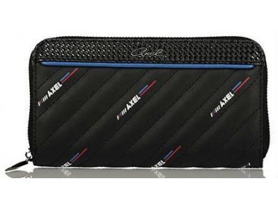 Axel Loola zip wallet 1101-1151 black