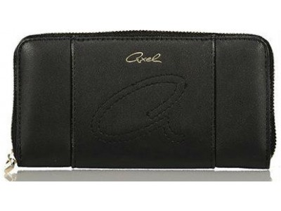 Axel Jil wallet solid color 1101-1158 black