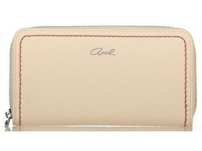 Axel Elvira zip wallet 1101-1205 cream