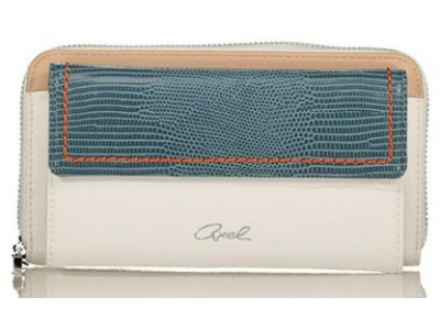 Axel Kristen wallet with flap closing 1101-1217 blue