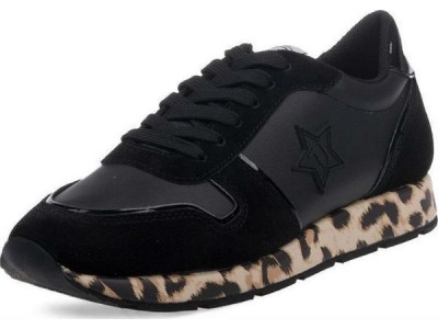 Trussardi black/leopard 79A00435 9Y099997