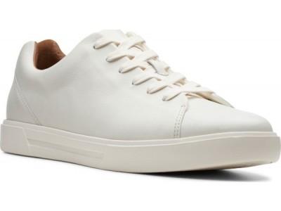 Clarks Un Costa Lace 261401647 white leatrher