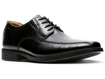 Clarks Tilden Walk 26110310 black leather