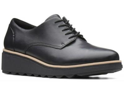 Clarks Sharon Noel 26139075 black leather