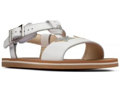 Clarks Finch summer K 26157643 white leather
