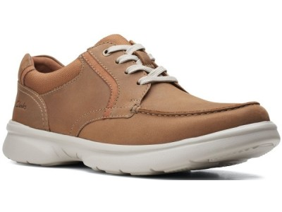 Clarks Bradley Vibe 261580837 tan leather