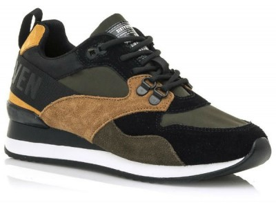 SixtySeven COSMO C47957 30213 suede black/suede kakhy