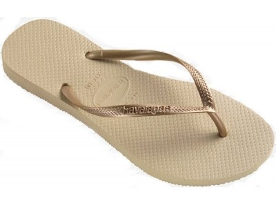 Havaianas slim 4000030.2719.F72  sand grey/light golden