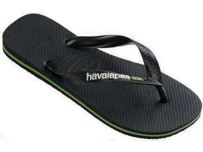 Havaianas Brasil Logo 4110850.1069 black/black