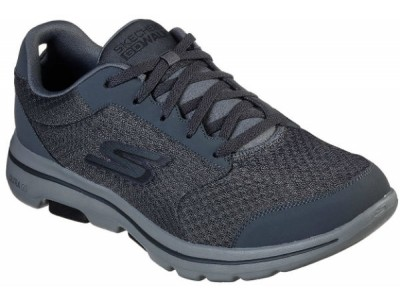 Skechers 55509 GOwalk 5™ - Qualify charcoal/black