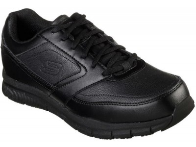 Skechers 77156 Work Relaxed Fit®: Nampa SR black